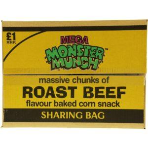 Mega Monster Munch Roast Beef Snacks