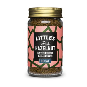 Littles - Decaf Rich Hazelnut Flavour Instant Coffee