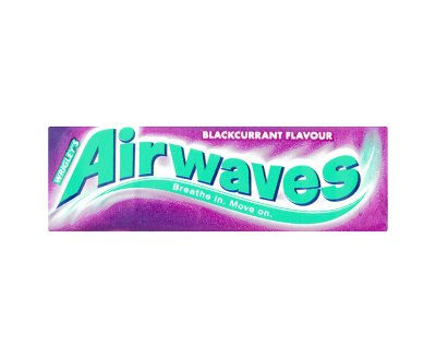 Wrigleys Airwaves Blackcurrant Sugar free Chewing Gum