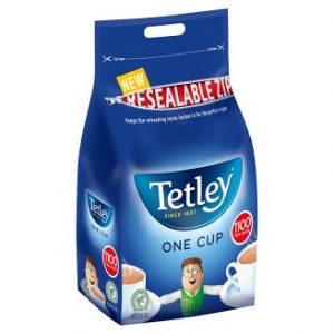 Tetley for Caterers 1100 One Cup Tea Bags
