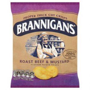 Brannigans Roast Beef & Mustard Flavour