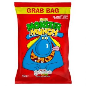 Mega Monster Munch Flamin Hot Flavour Baked