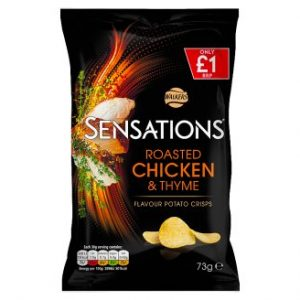 Walkers Sensations Roasted Chicken & Thyme