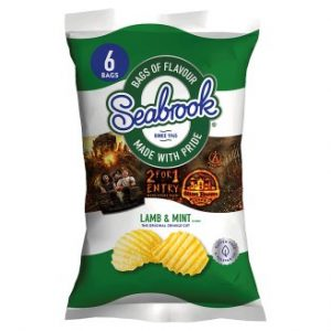 Seabrook Crisps Lamb & Mint Flavour
