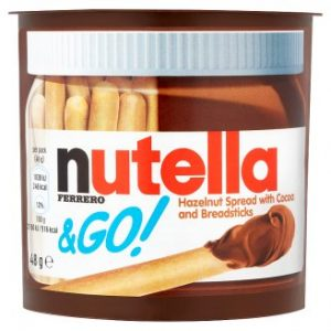 Nutella & Go! Hazelnut Spread with Cocoa and Breadsticks