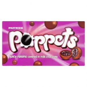 Poppets Juicy Raisins Covered in Milk Chocolate