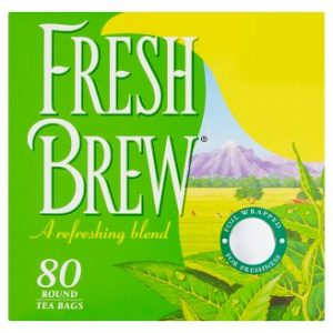 Fresh Brew 80 Round Tea Bags