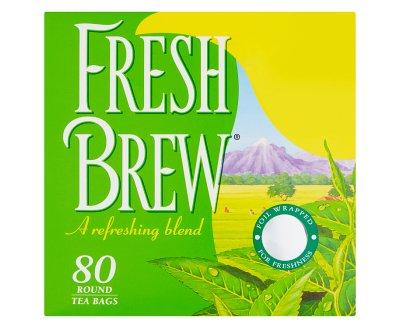 Fresh Brew 80 Round Tea Bags