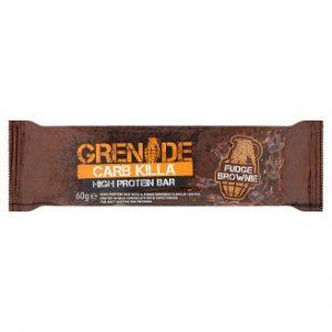 Grenade Carb Killa High Protein Bar Fudge Brownie