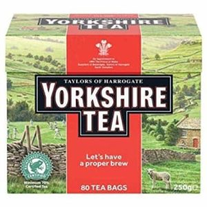 Taylors of Harrogate Yorkshire Tea 80 Tea Bags 250g