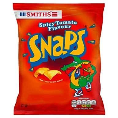 Smiths Snaps Spicy Tomato Flavour