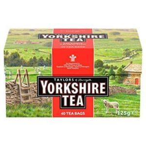 Taylors of Harrogate Yorkshire Tea 40 Tea Bags 125g