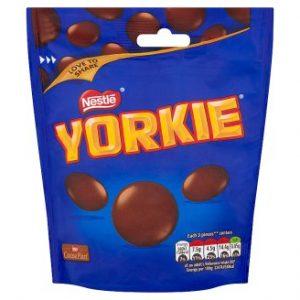 Nestlщо Yorkieо Milk Chocolate Buttons Sharing