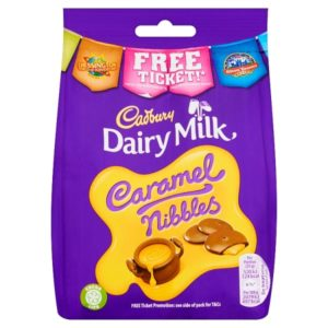 Cadbury Dairy Milk £1 Caramel Nibbles Bag