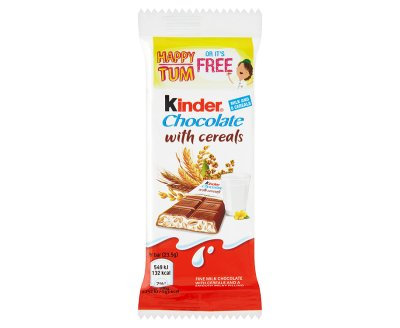 Kinder Chocolate With Cereals 235g X 40 Bars
