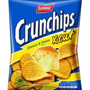 Lorenz Crunchips X Cut Cheese & Onion