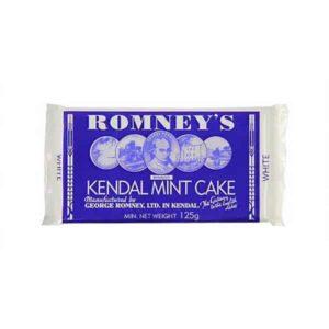 Romneys Kendal Mint Cake Mini White Bar