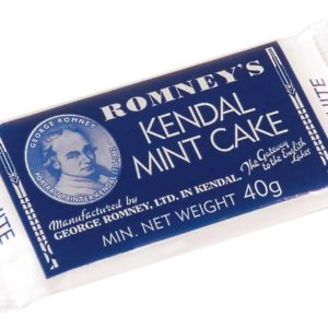 Romneys Kendal Mint Cake 40g MINI White Bars