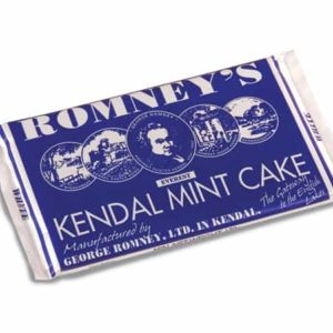 Romneys Kendal Mint Cake Large White Bar 170g