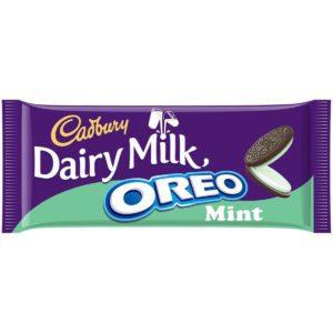 Cadbury Dairy Milk With Oreo Mint Chocolate