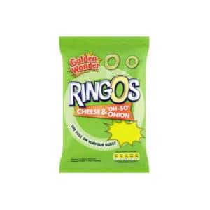 Golden Wonder Ringos Sour Cream & Onion