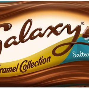 Galaxy Collection Salted Caramel Bar