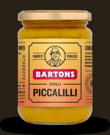 Barton's Handcrafted Chilli Piccalilli 340g