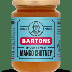 Barton's Handcrafted Mango Chutney 340g