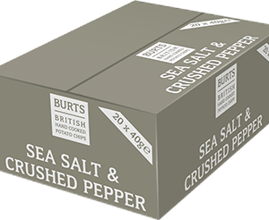 Burts - Sea Salt & Crushed Peppercorns