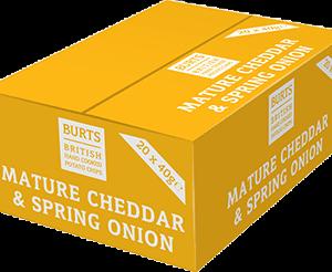Burts - Vintage Cheddar & Spring Onion