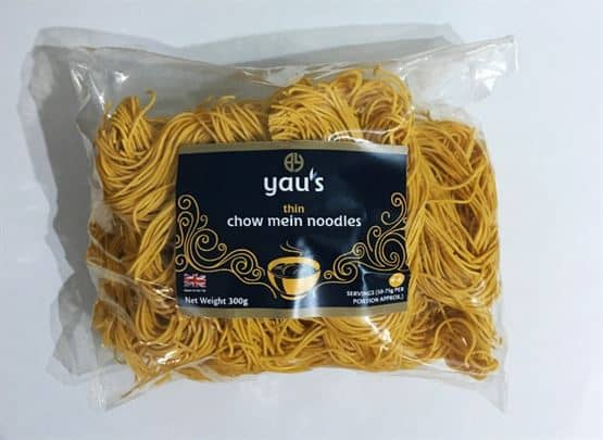Yau's - Thin Chow Mein Noodles 300g