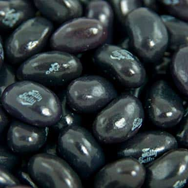 JELLY BELLY - Liquorice Beans 1kg Bags