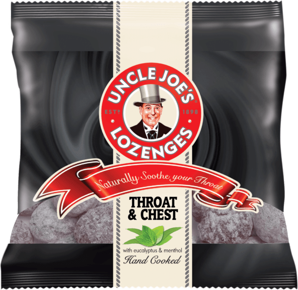 Uncle Joes Throat and Chest Lozenges 70g