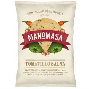 Manomasa - Tomatillo Salsa (10 Bags X 160)