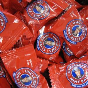 Uncle Joes Mint Balls 1KG Bag