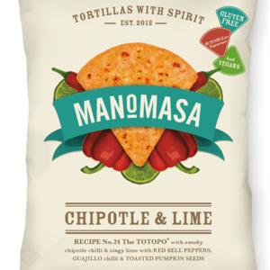 Manomasa - Tortilla Chips Chipotle & Lime