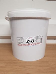 KMC Salt & Pepper Seasoning 10kg Bulk Tub