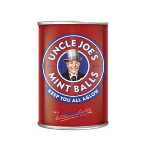 Uncle Joes Mint Balls 120g Standard Tins