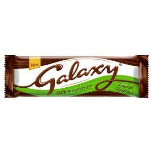 Galaxy Darker Milk with Hazelnuts Chocolate Bar 40g Bars