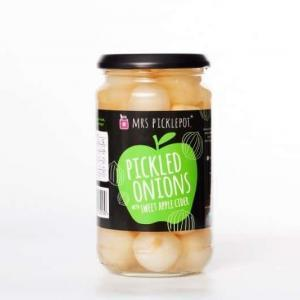 Mrs Pickle Pots - Pickled Onions Sweet Apple Cider