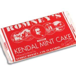 Romneys Kendal Mint Cake Large Brown Bar 170g