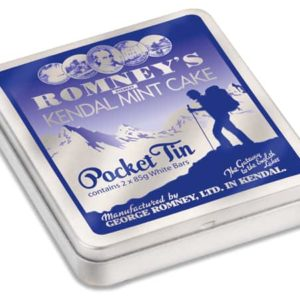 Romneys Kendal Mint Cake 170g Pocket Tin Mint Cake