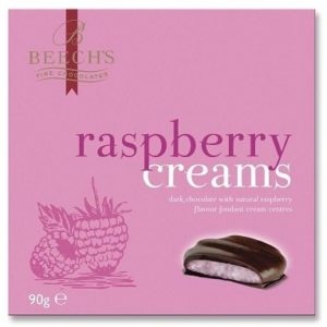 Beechs Raspberry Creams 90g Boxes