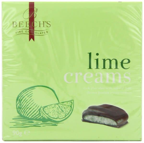 Beechs Lime Creams 90g Boxes