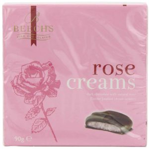 Beechs Rose Creams 90g Boxes