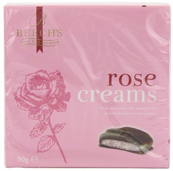 Beechs Rose Creams 90g Boxes