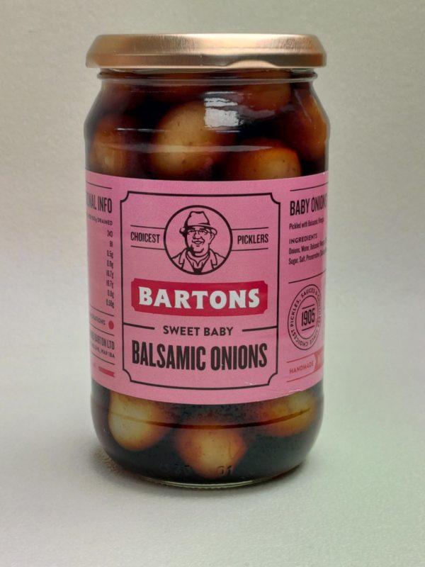 Bartons Balsamic Onions 450g